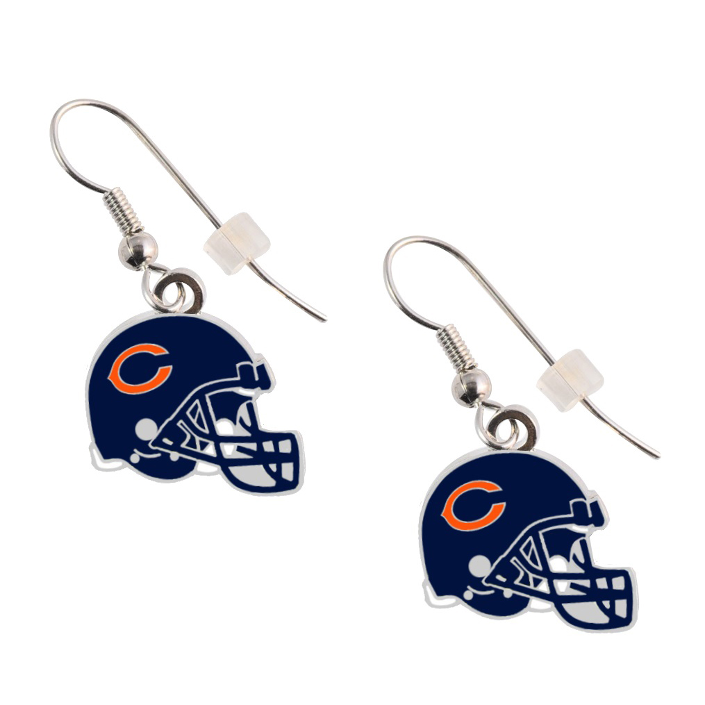Chicago Bears Helmet Earrings